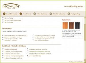 carports online konfigurieren. Black Bedroom Furniture Sets. Home Design Ideas